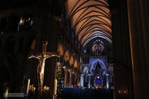 Photograph from St. Olaf Christmas In Norway - lighting design by mikelefevre