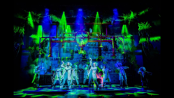 Photograph from Snow White & the Seven Dwarfs - lighting design by Mark Dymock