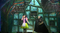Photograph from Snow White - lighting design by Pete Watts