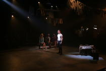Photograph from Em - lighting design by Matt Whale