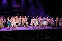 Photograph from Once Upon A Time At The Adelphi - lighting design by JimmiRichardson