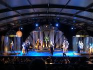 Photograph from Die Fledermaus - lighting design by Sarah Bath