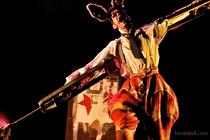 Photograph from Pinocchio - lighting design by Phil Buckley