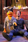 Photograph from Avenue Q - lighting design by Brendan Albrey