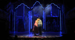 Photograph from Sleeping Beauty Rock n Roll Panto - lighting design by Jason Salvin