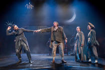 Photograph from The Beggar's Opera - lighting design by Rob Halliday