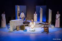 Photograph from Persuasion - lighting design by Sherry Coenen