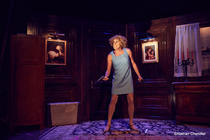 Photograph from Director's Cut - lighting design by Sherry Coenen