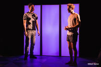 Photograph from Kompromat - lighting design by Sherry Coenen