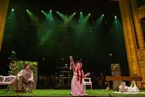 Photograph from L'Elisir D'Amore - lighting design by NFLX-Scot