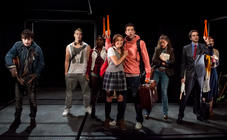 Photograph from Lift - lighting design by Andrew Voller