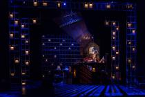 Photograph from The Last Tango - lighting design by James Whiteside