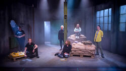 Photograph from The Storm - lighting design by Jane Lalljee
