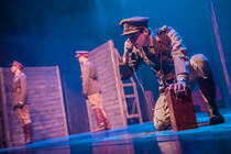 Photograph from Doctor Scroggy's War - lighting design by James McFetridge