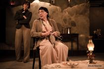 Photograph from The Last Ones - lighting design by Sherry Coenen