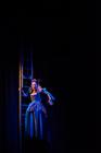Photograph from Madame Geneva - lighting design by James McFetridge