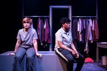Photograph from Lipstick - lighting design by Alex Lewer