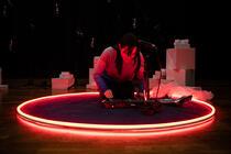 Photograph from LOOP - lighting design by JamesStokesLX