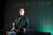 Photograph from Lost Boys New Town - lighting design by Joseph Ed Thomas