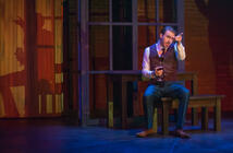 Photograph from 55 Days - lighting design by James McFetridge