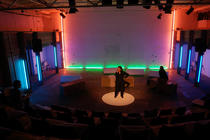 Photograph from Made Visible - lighting design by Marty Langthorne