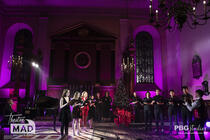 Photograph from A West End Christmas - lighting design by hjellis93