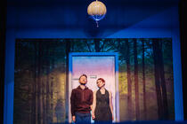 Photograph from Girl In The Machine - lighting design by Sergey Jakovsky