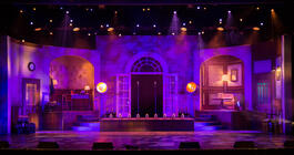 Photograph from Magic Moments - lighting design by Archer