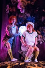 Photograph from Muckers - lighting design by Ali Hunter
