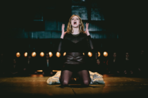 Photograph from Classic Texts - Macbeth - lighting design by Sophie Bailey