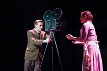 Photograph from Mack and Mabel - lighting design by Sophie Bailey