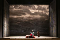 Photograph from Madama Butterfly - lighting design by GianniBertoli