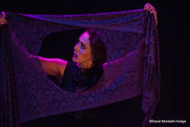 Photograph from Margo: Half Woman, Half Beast - lighting design by Sherry Coenen