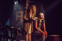Photograph from The Mountain Bluebird - lighting design by George Bach