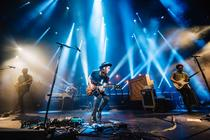 Photograph from James Bay - lighting design by Liam Tully