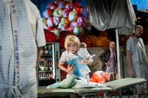 Photograph from L'Ospedale - lighting design by Ben Pickersgill