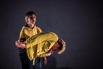 Photograph from Our True Feelings - lighting design by Marty Langthorne