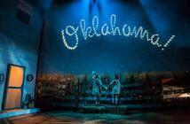 Photograph from Oklahoma! - lighting design by NFLX-Scot