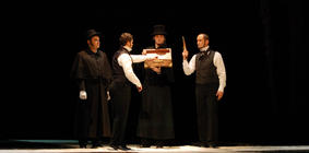 Photograph from Eugene Onegin - lighting design by Chris Jaeger
