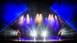 Photograph from Festival Live - lighting design by Archer