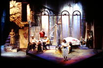 Photograph from A Streetcar Named Desire - lighting design by Wally Eastland