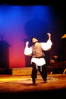 Photograph from Fiddler on the Roof - lighting design by Wally Eastland