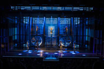 Photograph from The Bodyguard - lighting design by Luc Peumans