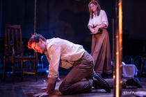 Photograph from Paradise Circus - lighting design by Sherry Coenen
