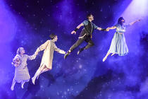 Photograph from Peter Pan - lighting design by RaefnW