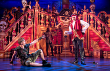 Photograph from Peter Pan - lighting design by Matthew Clutterham