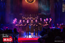 Photograph from A West End Christmas - lighting design by Nigel Lewis