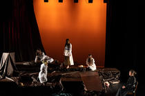 Photograph from Picnic at Hanging Rock - lighting design by Matthew Swithinbank