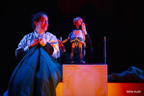Photograph from Prince Charming - lighting design by Sherry Coenen
