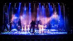 Photograph from One Way Or Another - lighting design by Archer